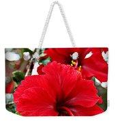 Hibiscus Perspective Weekender Tote Bag