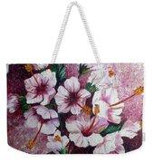 Hibiscus Pink 3  Weekender Tote Bag
