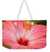 Hibiscus - Square Weekender Tote Bag