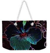 Hibiscus Style Weekender Tote Bag