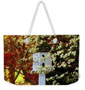 Hidden Bird House Weekender Tote Bag