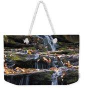 Hidden Falls 3 Weekender Tote Bag