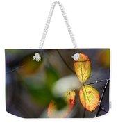 Hidden Forest Leaves Weekender Tote Bag