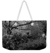 Hidden Garden In Black And White Weekender Tote Bag
