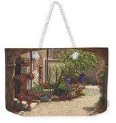 Hidden Garden Villa Di Camigliano Tuscany Weekender Tote Bag