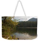 Hidden Lake No. 1 Weekender Tote Bag