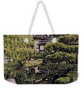 Hidden Pagoda Weekender Tote Bag