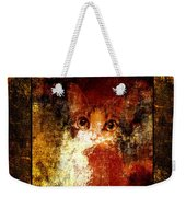 Hidden Square Weekender Tote Bag by Andee Design