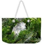 Hiding Hydrangea Weekender Tote Bag