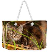 Hiding In The Grass Weekender Tote Bag