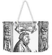 Hieronymous Bock (c1489-1554) Weekender Tote Bag