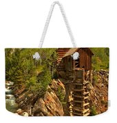 High Above The Crystal River Weekender Tote Bag by Adam Jewell