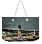 High Above The Lighthouse  Weekender Tote Bag