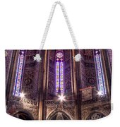 High Altar And Stained Glass Windows  Weekender Tote Bag
