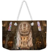 High Altar In Church Of Jeronimos Monastery Weekender Tote Bag