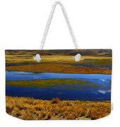 High Altitude Reflections Weekender Tote Bag