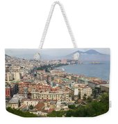 High Angle View Of A City, Naples Weekender Tote Bag