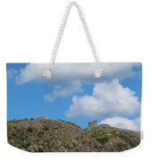 High As The Sky - Blue Sky - Cliffs Weekender Tote Bag