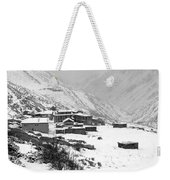 High Camp - The Himalayas - Nepal Weekender Tote Bag