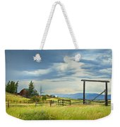 High Country Farm Weekender Tote Bag by Theresa Tahara