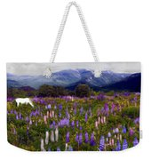 High Country Lupine Dreams Weekender Tote Bag