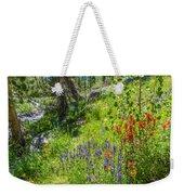 High Country Wildflowers Weekender Tote Bag