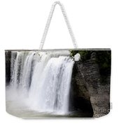 High Falls In Rochester New York Weekender Tote Bag