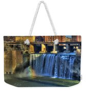 High Falls Rainbow Weekender Tote Bag