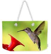 High Flying Hummingbird Weekender Tote Bag