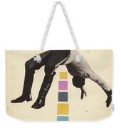High Jump Weekender Tote Bag