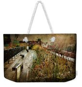 High Line Park In The Rain New York Weekender Tote Bag