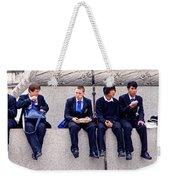 High Lunch Weekender Tote Bag