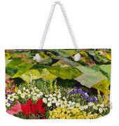 High Mountain Patch Weekender Tote Bag