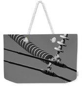 High Power Line - 4 Weekender Tote Bag