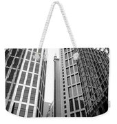 High Rise Building In The Financial Center Of Hong Kong Weekender Tote Bag