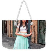 High School Senior Portrait French Quarter New Orleans Weekender Tote Bag