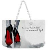 High Standards Weekender Tote Bag