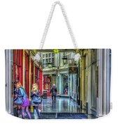 High Street Arcade Cardiff Weekender Tote Bag