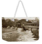 High Tide And Big Waves At Lovers Point Beach Pacific Grove California Circa 1907 Weekender Tote Bag