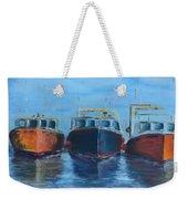 High Tide Breton Harbor Weekender Tote Bag