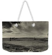 High Tide Of The Confederacy Black And White Weekender Tote Bag