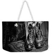 High Top Shoes - Bw Weekender Tote Bag