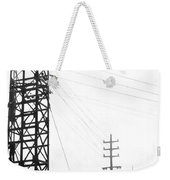 High Wire Suicide Rescue Weekender Tote Bag