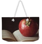Higher Learning Weekender Tote Bag by Amy Weiss