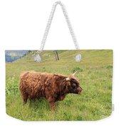 Highland Caw Weekender Tote Bag