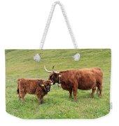 Highland Caws Weekender Tote Bag