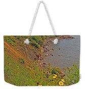 Highlands Coastline In Cape Breton Highlands Np-ns Weekender Tote Bag