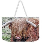 Highlands Coo Weekender Tote Bag