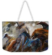 Hightailing It Out Of There Weekender Tote Bag