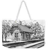 Highlands Train Station Weekender Tote Bag